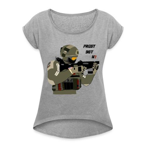 FROST SGT - Women's Roll Cuff T-Shirt