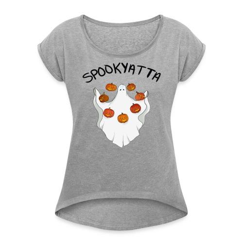LIMITED EDITION Zenyatta Skin-design - Women's Roll Cuff T-Shirt