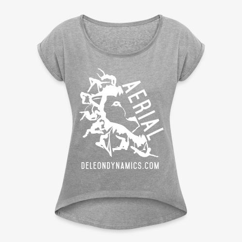 Aerial - Women's Roll Cuff T-Shirt
