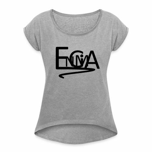 Engimalogo - Women's Roll Cuff T-Shirt