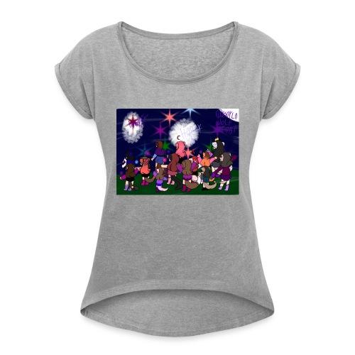 Dreams kids - Women's Roll Cuff T-Shirt