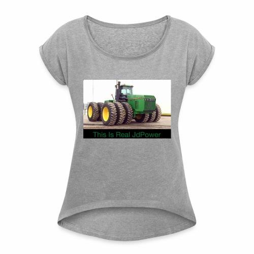 FAF8445C 2EA7 42BB BF19 2B00D2FC6D59 - Women's Roll Cuff T-Shirt
