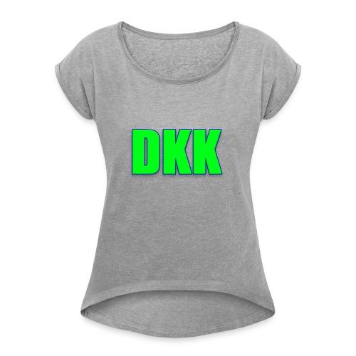 T shirt ontwerp - Women's Roll Cuff T-Shirt
