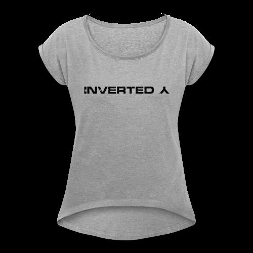InvertedY - Women's Roll Cuff T-Shirt