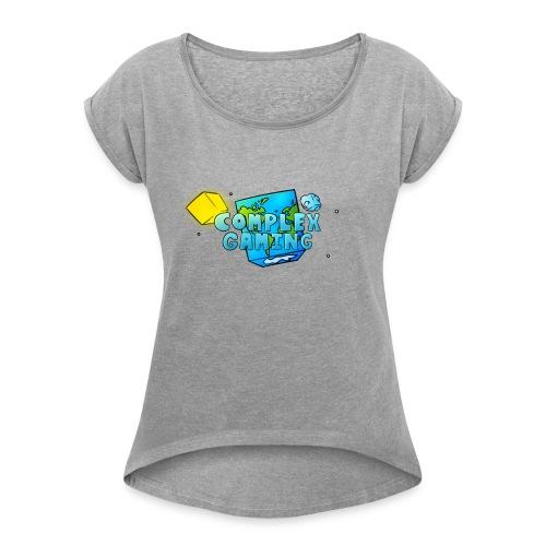 Complex Gaming - Women's Roll Cuff T-Shirt