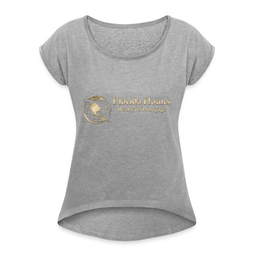 3fhrmlogos 4 - Women's Roll Cuff T-Shirt