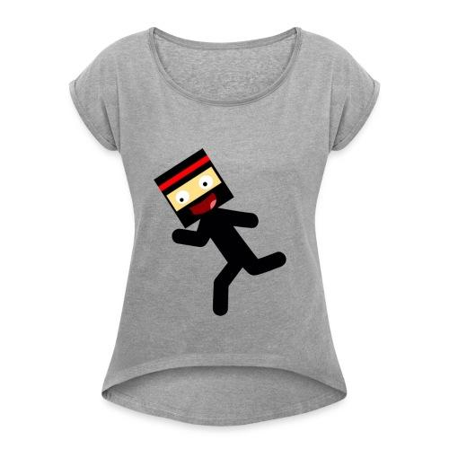 Stickmam Collection - Women's Roll Cuff T-Shirt
