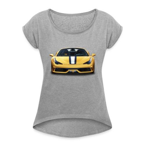 Ferrari 458 Speciale - Women's Roll Cuff T-Shirt
