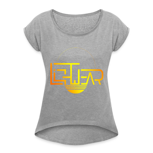 Official Lightwear Gear - Women's Roll Cuff T-Shirt