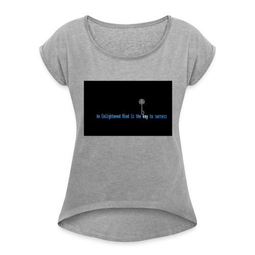 brain2 - Women's Roll Cuff T-Shirt