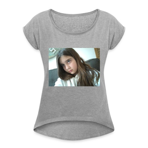 15241756546531677564720 - Women's Roll Cuff T-Shirt