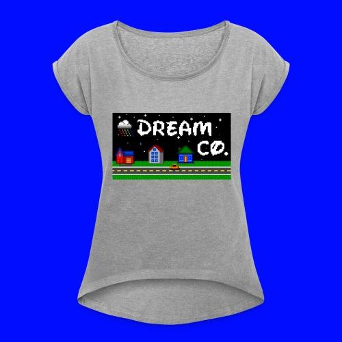 Pixel Art - Women's Roll Cuff T-Shirt