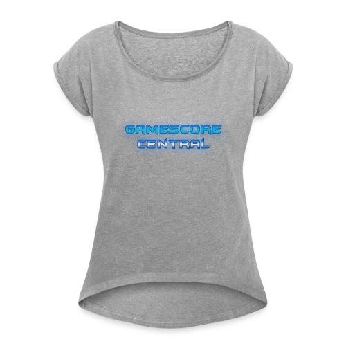Gamescore Central Varsity Sweatshirt - Women's Roll Cuff T-Shirt