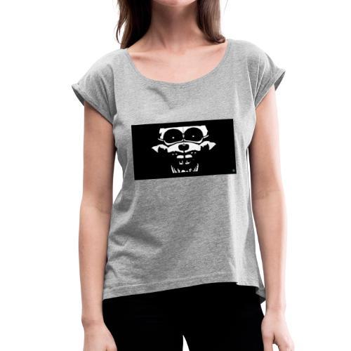 Blizzard_Ennard - Women's Roll Cuff T-Shirt