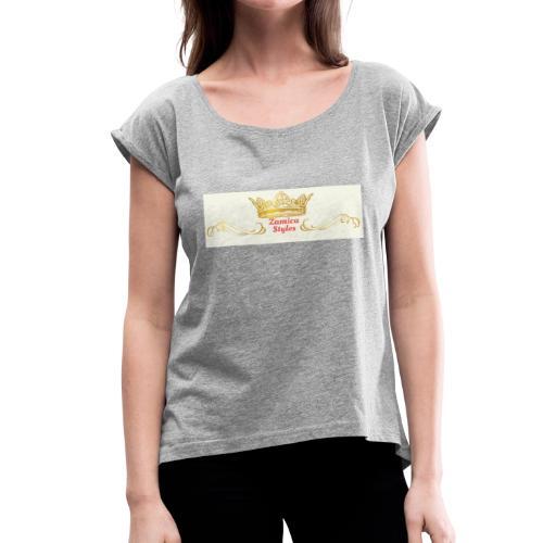 zs - Women's Roll Cuff T-Shirt