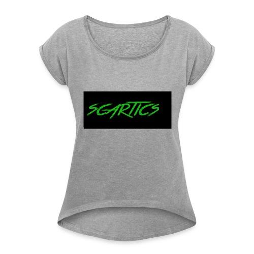 scartics - Women's Roll Cuff T-Shirt