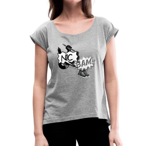 Four Elements - Women's Roll Cuff T-Shirt