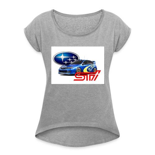 T-shirt Subary - Women's Roll Cuff T-Shirt