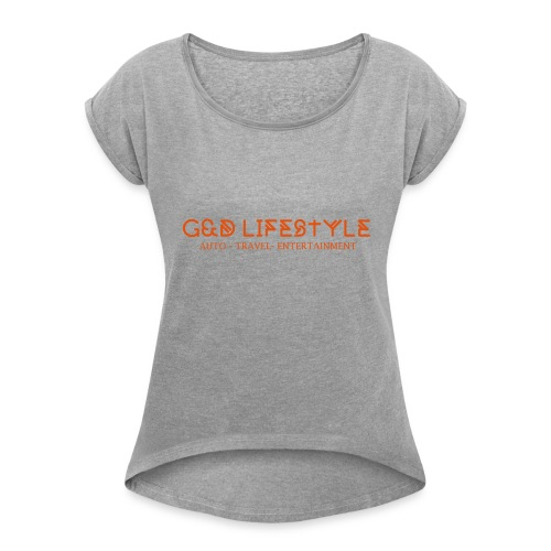 G&D LIFESTYLE - Women's Roll Cuff T-Shirt