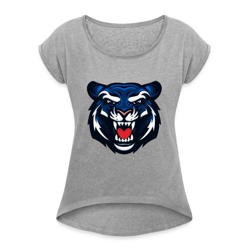 Jackson State Tiger - Women's Roll Cuff T-Shirt