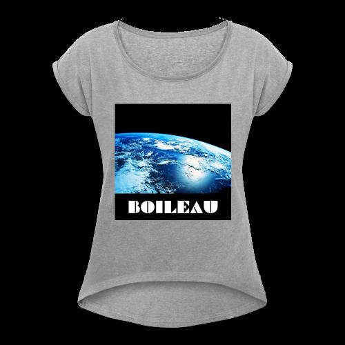 13 - Women's Roll Cuff T-Shirt