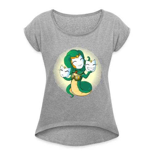 Medusa - Women's Roll Cuff T-Shirt