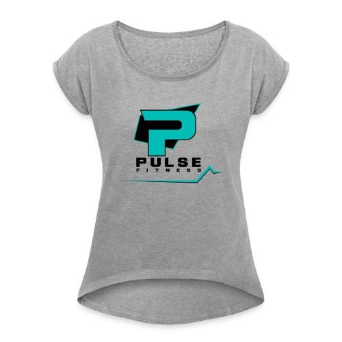 Pulse Fitness - Women's Roll Cuff T-Shirt