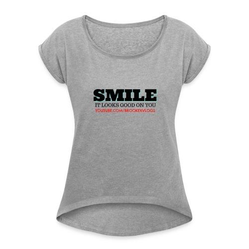 TSHIRT - Women's Roll Cuff T-Shirt