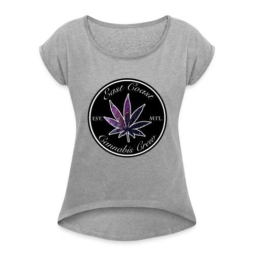 OG Cannabis Crew - Women's Roll Cuff T-Shirt