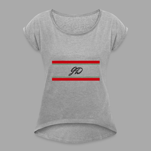 Joshua Daley Signature - Women's Roll Cuff T-Shirt