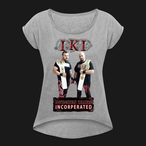 IKI Grunge - Women's Roll Cuff T-Shirt