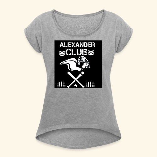 AHS CLUB T'S - Women's Roll Cuff T-Shirt