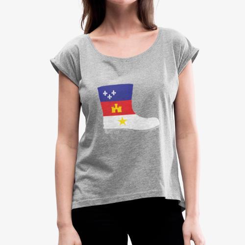 Acadian Boot - Women's Roll Cuff T-Shirt