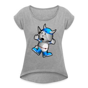 Steve! - Women's Roll Cuff T-Shirt