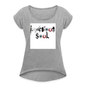 Konscious Soul - Women's Roll Cuff T-Shirt