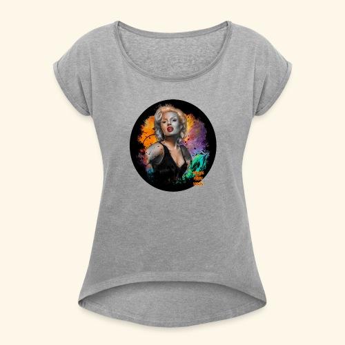 Marilyn Monroe - Women's Roll Cuff T-Shirt