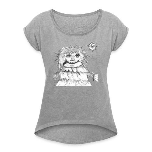 Rattly Ann - Women's Roll Cuff T-Shirt