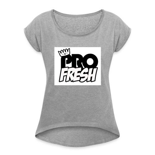 32722742 115509209327293 4167748814209286144 o - Women's Roll Cuff T-Shirt