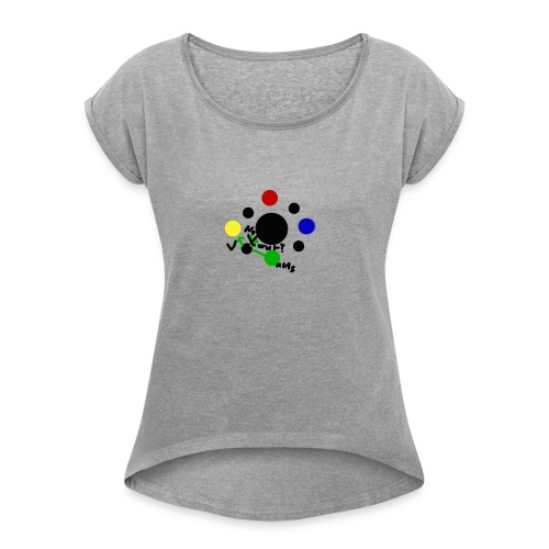 Complicated Strategy Map - Women's Roll Cuff T-Shirt