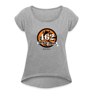 462 logo - Women's Roll Cuff T-Shirt