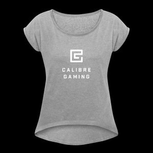 Calibre Gaming Inverted - Women's Roll Cuff T-Shirt