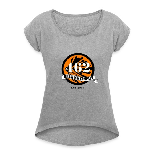 462 logo - Women's Roll Cuff T-Shirt