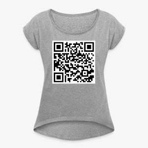 Merch Gang - Women's Roll Cuff T-Shirt
