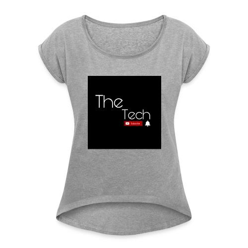 The Tech t-shirts - Women's Roll Cuff T-Shirt