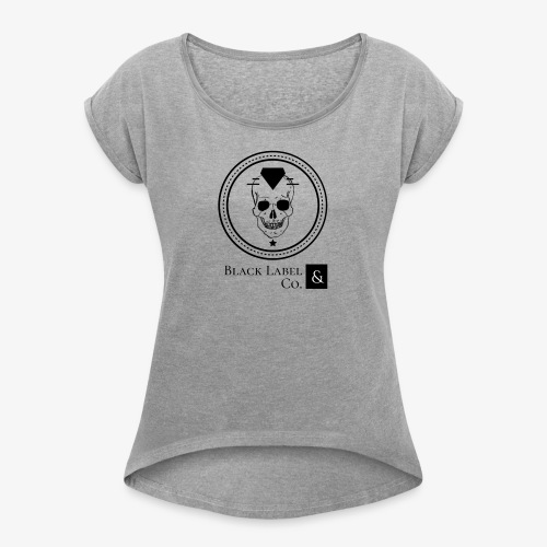 Black Label & Co Dark Concept - Women's Roll Cuff T-Shirt
