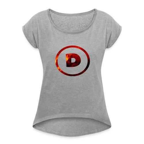 Dra9on Stuff #1 - Women's Roll Cuff T-Shirt