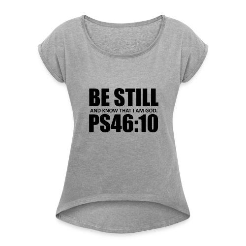 bestill - Women's Roll Cuff T-Shirt