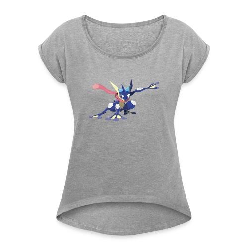 1st T shirt - Women's Roll Cuff T-Shirt
