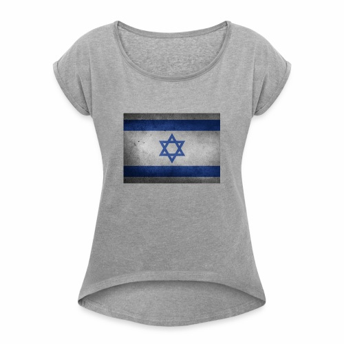 Israel - Women's Roll Cuff T-Shirt