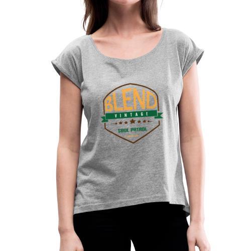 BLEND - Women's Roll Cuff T-Shirt